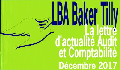 LBA Baker Tilly | lettre actualité audit et comptabilité