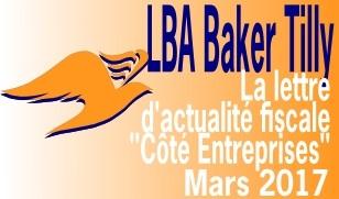 Actualité fiscale LBA Baker Tilly Nantes