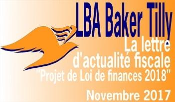 LBA Baker Tilly   lettre d'actualité fiscale
