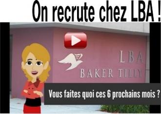 LBA Baker Tilly recrute un gestionnaire de paie